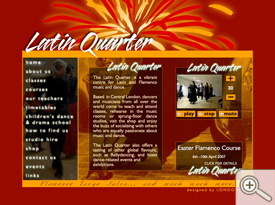 Latin Quarter Home Page
