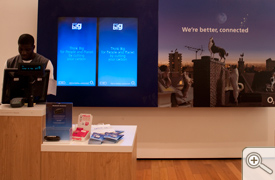 Joint branding with O2 and their Think Big campaign