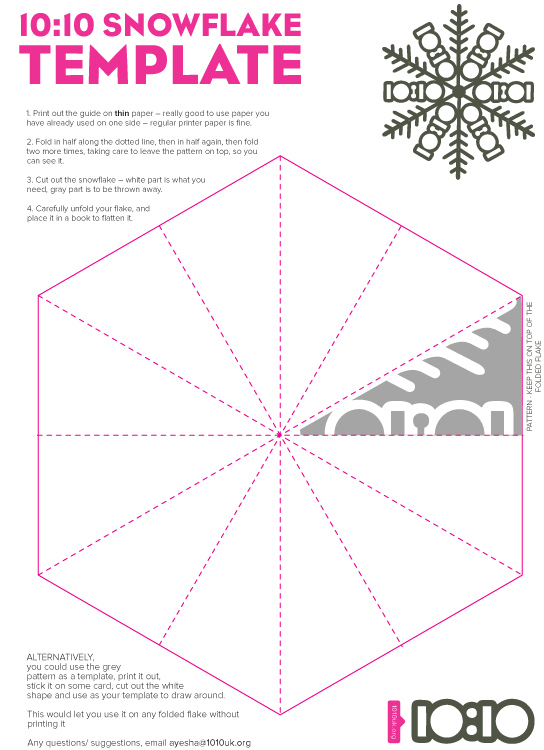 snowflake cutting template images pictures becuo
